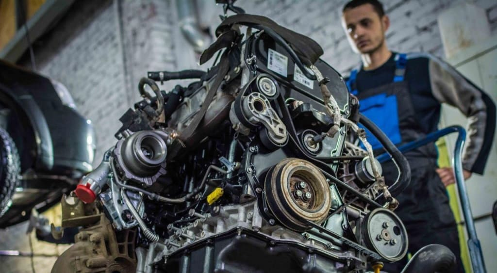 Замена двигателя Шкода в Екатеринбурге