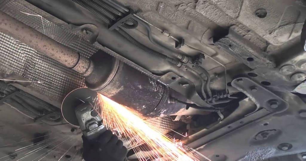 Удаление сажевого фильтра Шкода в Екатеринбурге
