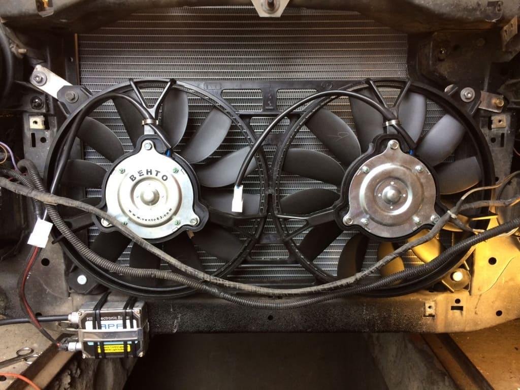 Замена вентилятора охлаждения Опель в Екатеринбурге