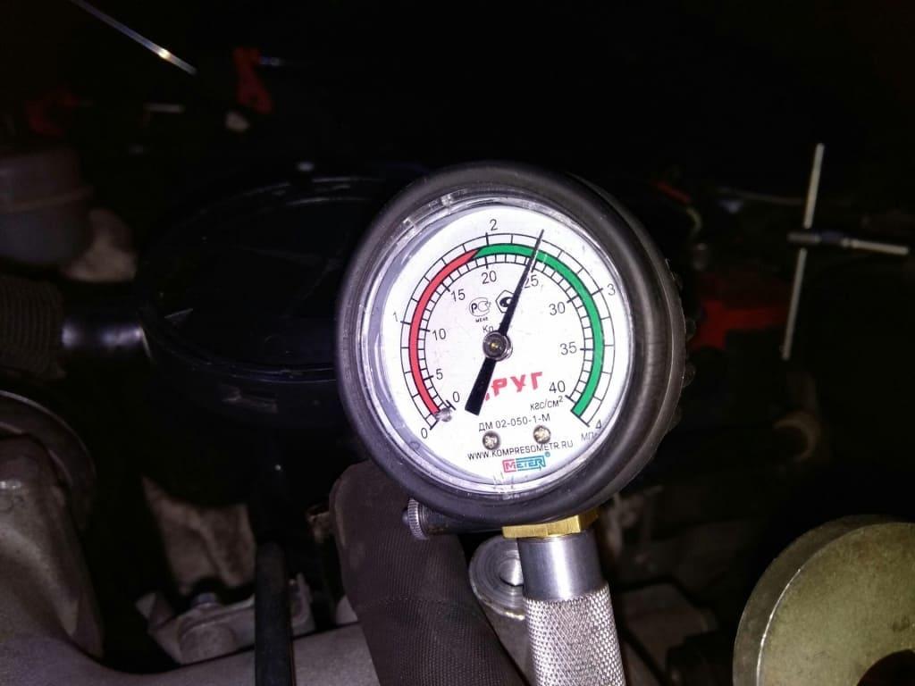 Замер компрессии двигателя Шкода в Екатеринбурге